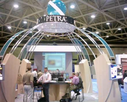 The Petra booth